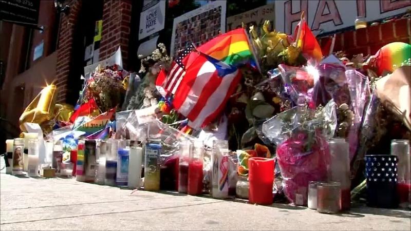 NYC celebrates gay pride in shadow of Orlando