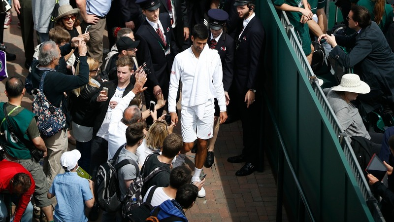 Wimbledon opens up for first day of play