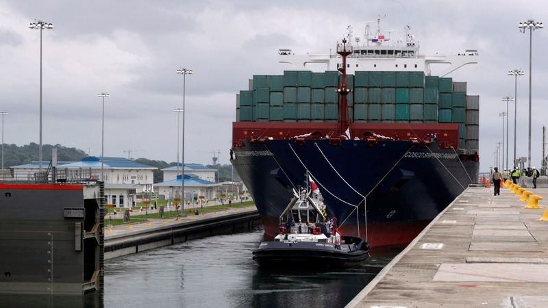 Panama Canal expansion opens up
