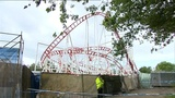 Roller coaster crash injures 10 in Scotland
