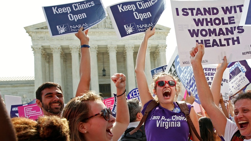 Abortion rights win big at Supreme Court