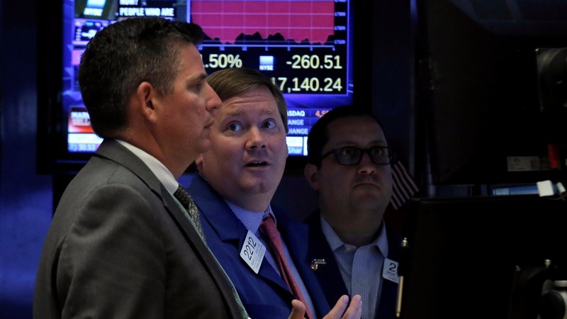 Dow loses almost 900 points since Brexit