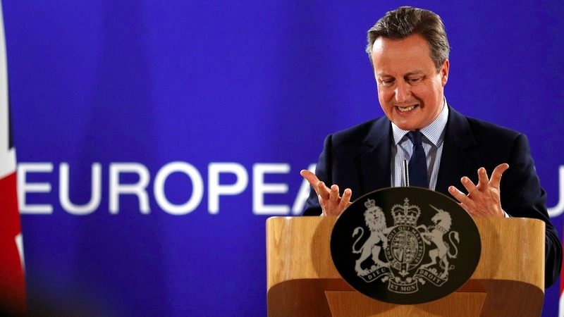 Emotional Cameron bids farewell to Europe