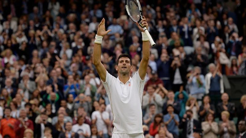 Djokovic breaks match record at Wimbledon