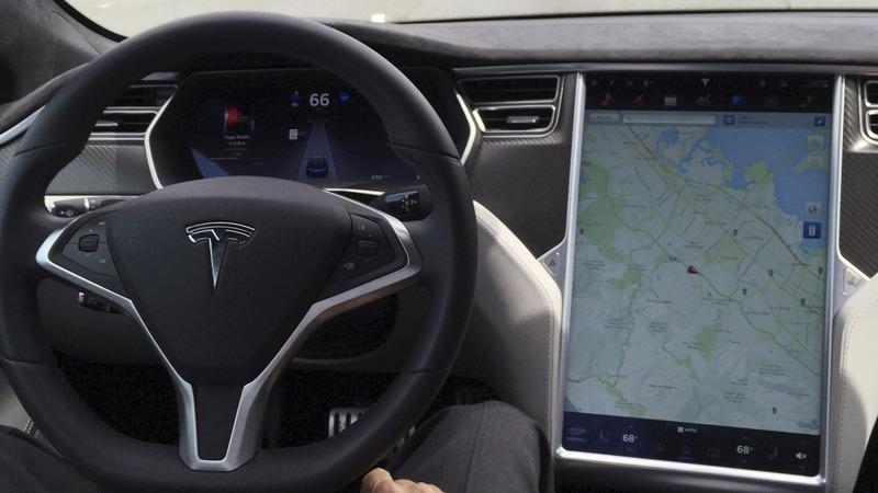 DVD player found in Tesla involved in fatal crash