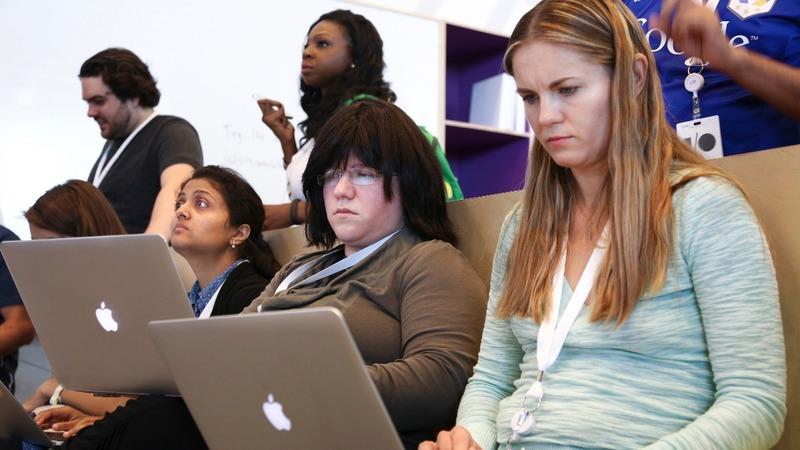 Progress is slow for Google's diversity push