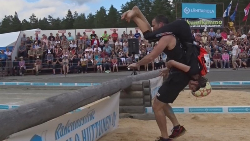 INSIGHT: Wife Carrying World Champs