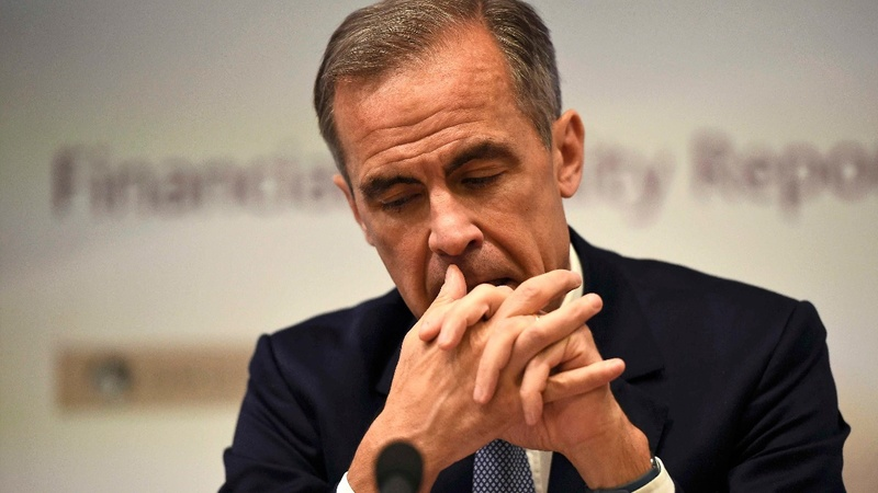 Carney: UK economic outlook now 'challenging'