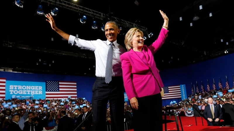 Clinton counting on Obama for '16 spark