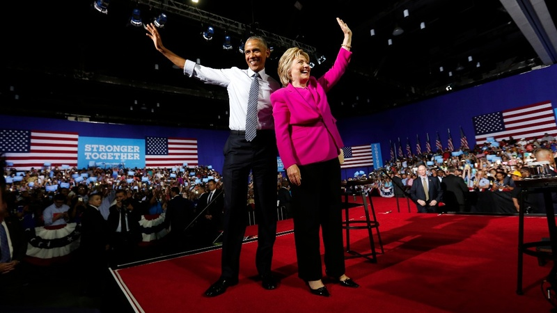 VERBATIM: Obama joins Clinton for first stump speech