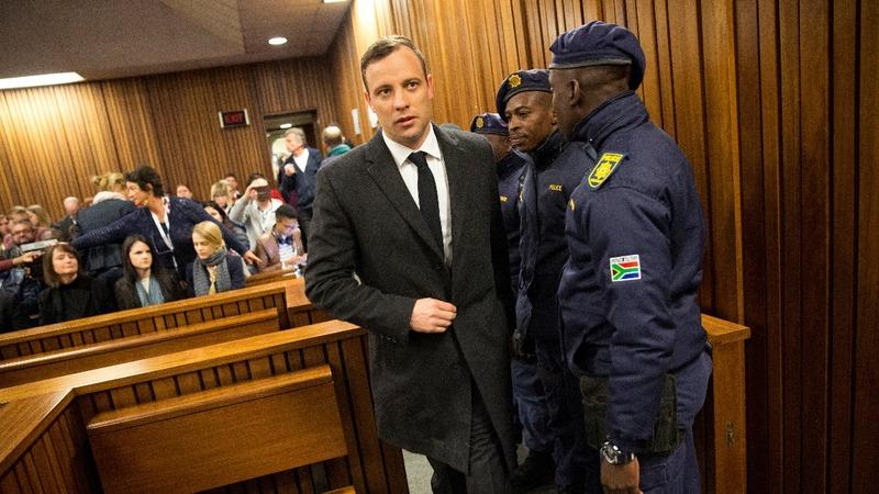 Pistorius jailed for 6 years for murder