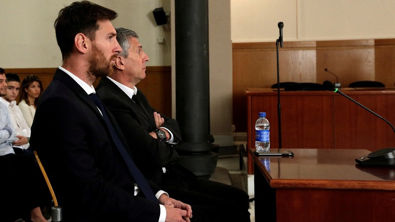 Messi sentenced to 21 months for tax crimes
