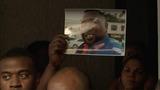 VERBATIM: Victim's family speaks out, son breaks down