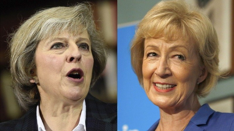 May vs. Leadsom in runoff for British PM