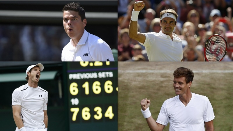 Wimbledon: Four horsemen of the grasscourt