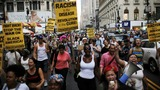Protests sweep the U.S. after shooting of two black men