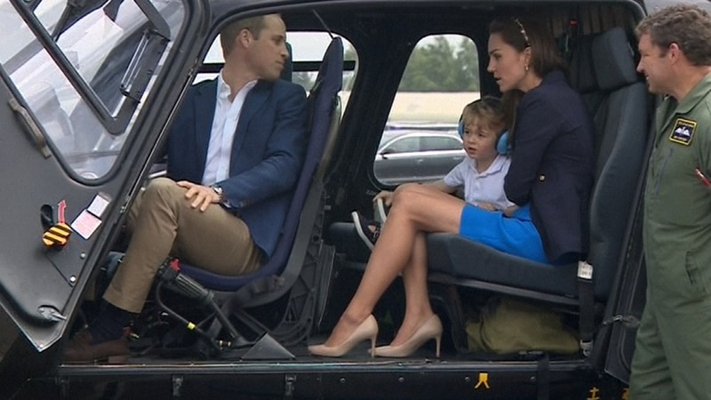 INSIGHT: Curious Prince George explores air show