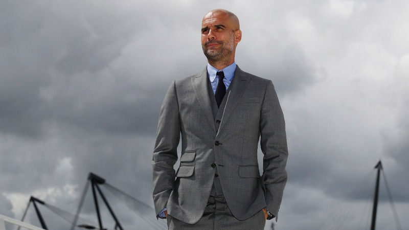 VERBATIM: Guardiola will thrive on pressure