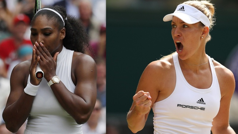 Wimbledon: Serena and Kerber face off in final