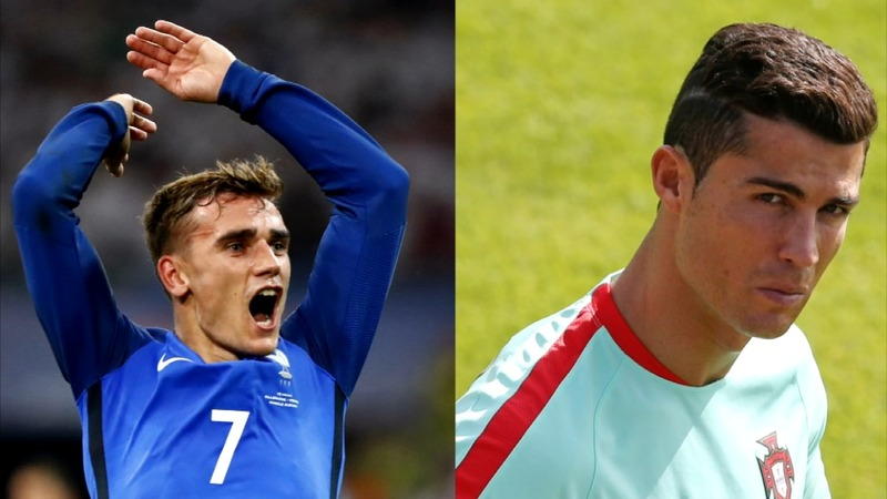 France face Portugal in Euro 2016 final