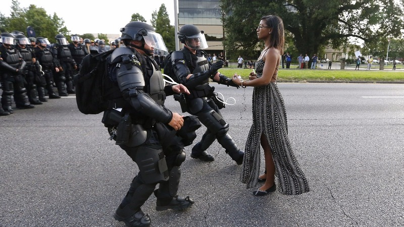 Protests rock American cities, arrests in Baton Rouge