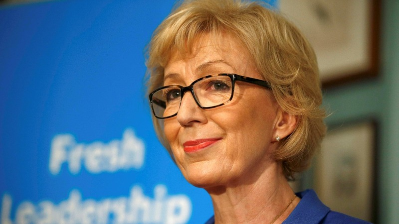 VERBATIM: Leadsom quits Tory leadership race