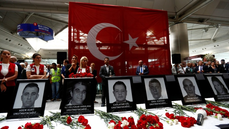 Radicalisation of Turkey attack's Russian suspect