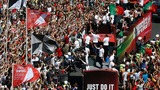 INSIGHT: Victorious Portugal team lands in Lisbon