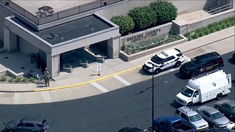 Deadly shooting at Michigan courthouse