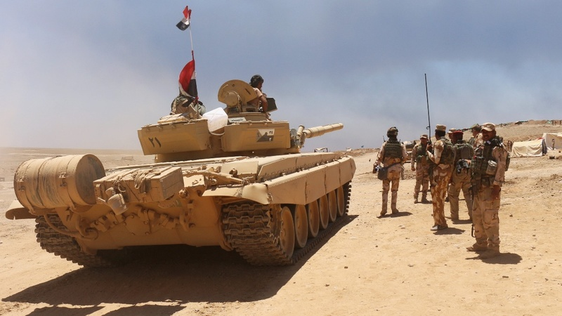 Iraqi forces close in on I.S. bastion Mosul
