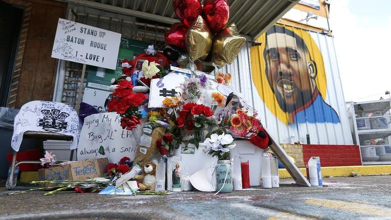 VERBATIM: Alton Sterling's son asks to 'protest in peace'