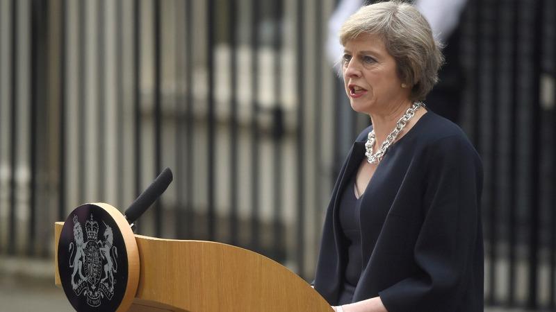 VERBATIM: Theresa May is new British Prime Minister