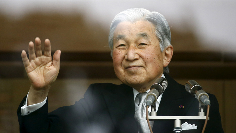 Reports that Japan's emperor may abdicate