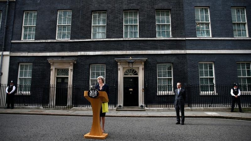 New UK PM May makes EU imprint
