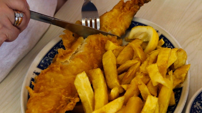 Weak pound gives fish and chips a battering
