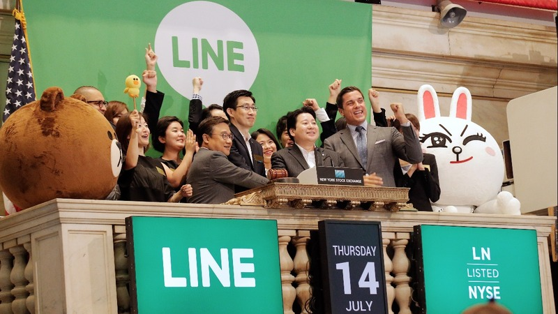 Line shares soar in U.S. IPO