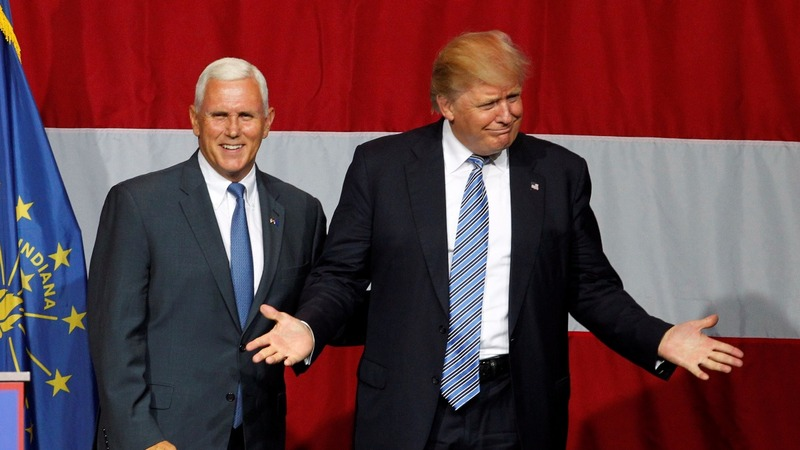 Pence likely, but Trump wavers on VP pick