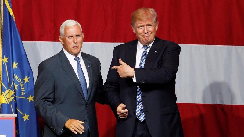 Trump announces his veep pick on Twitter