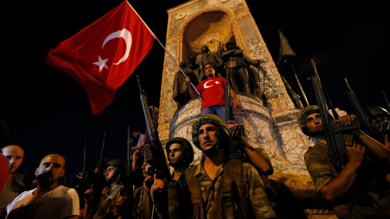 Turkish government stifles coup attempt