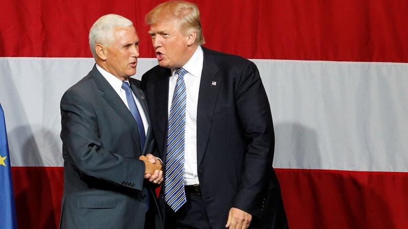 VERBATIM: Trump picks Pence