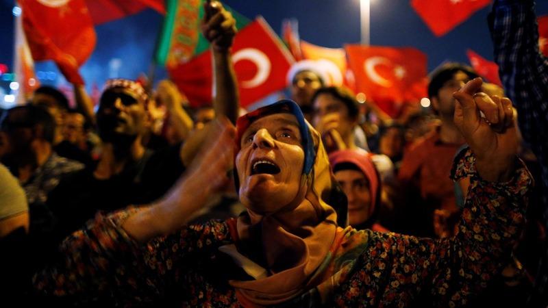 Turkey detains 6,000, hints at death sentence