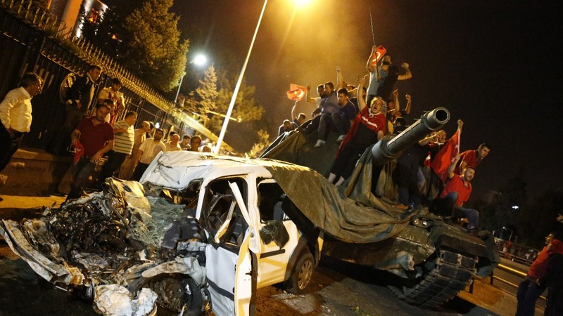 Turkey failed coup was strangely 20th century