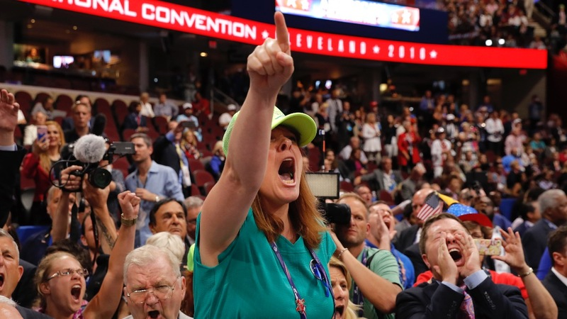 RNC Day 1: Chaos on the floor