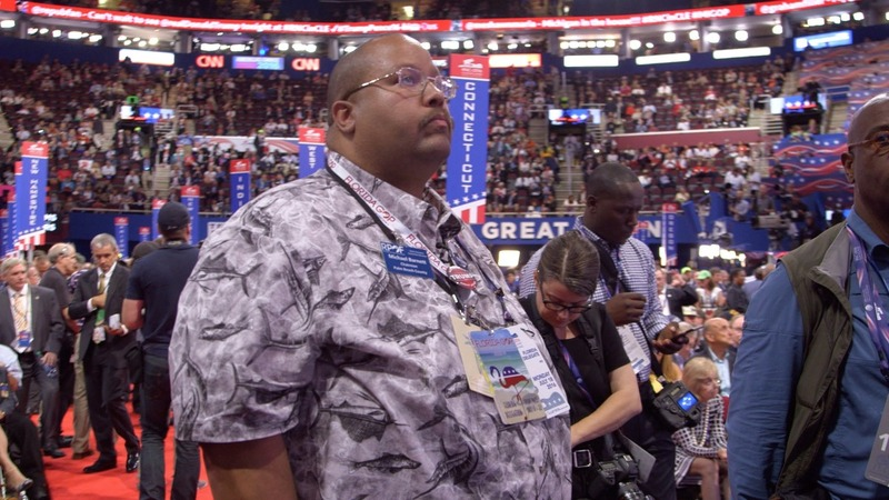 Delegate says Trump's not a racist