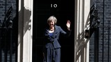 May courts Germany, France in foreign trip