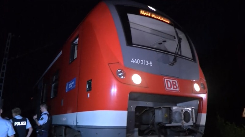 I.S. claims Germany train attack