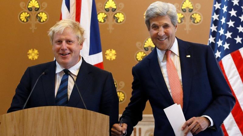 VERBATIM: Kerry praises bashful Boris