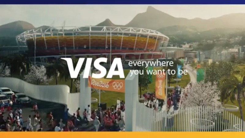 Visa refugee Olympian ads raise eyebrows