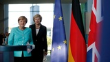 UK PM May makes Merkel first foreign trip