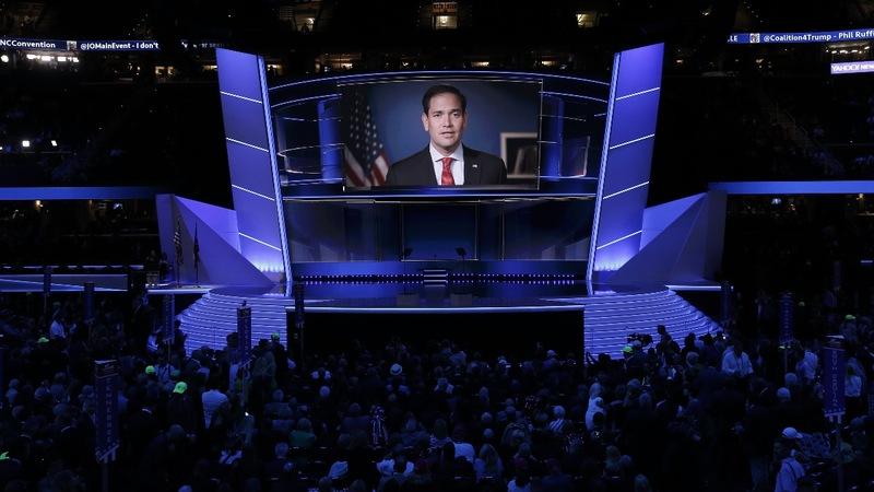 VERBATIM: Trump's former rivals offer endorsements